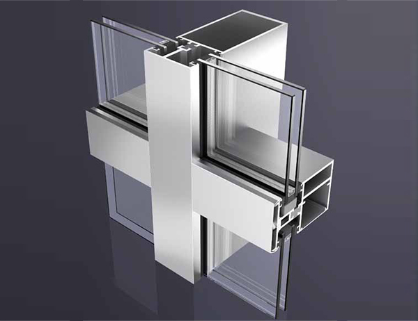 ALUMINUM EXTRUSIONS THERMAL BREAK PROFILES FOR CURTAIN WAL