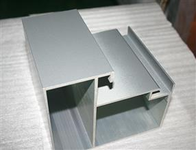 High quality PVDF powder door track aluminum window extrusion profile