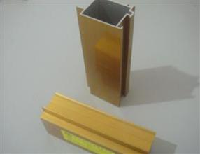 Aluminium extrusion for Gold Electrophoresis finish