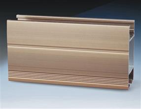Aluminum extrusion for window profiles