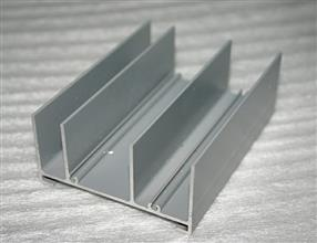 Powder coating grey colour for windows and doors