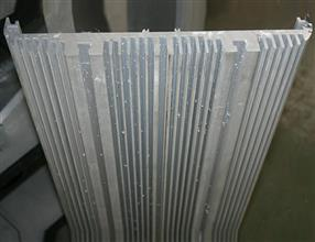 Aluminium profile for heat sink