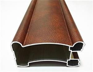 Aluminum extrusion for wooden windows