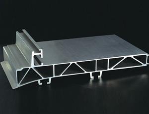 Aluminium section for industry