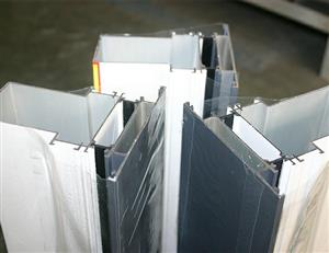 Thermal Break/Heat Insulation Aluminum Curtain Wall Profile