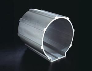 Aluminum extruded shell