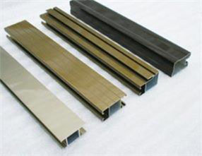 Electrophoresis surface aluminium profiles for windows and doors