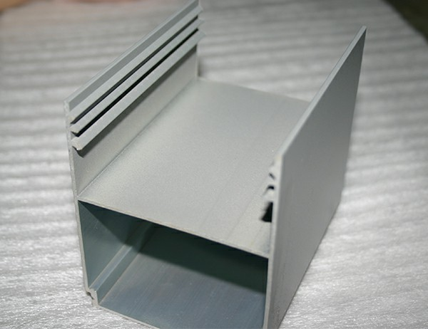 Extruded 6063-T5 aluminum profile