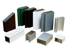 High Quality 6063 Curtain Wall Aluminum Profiles